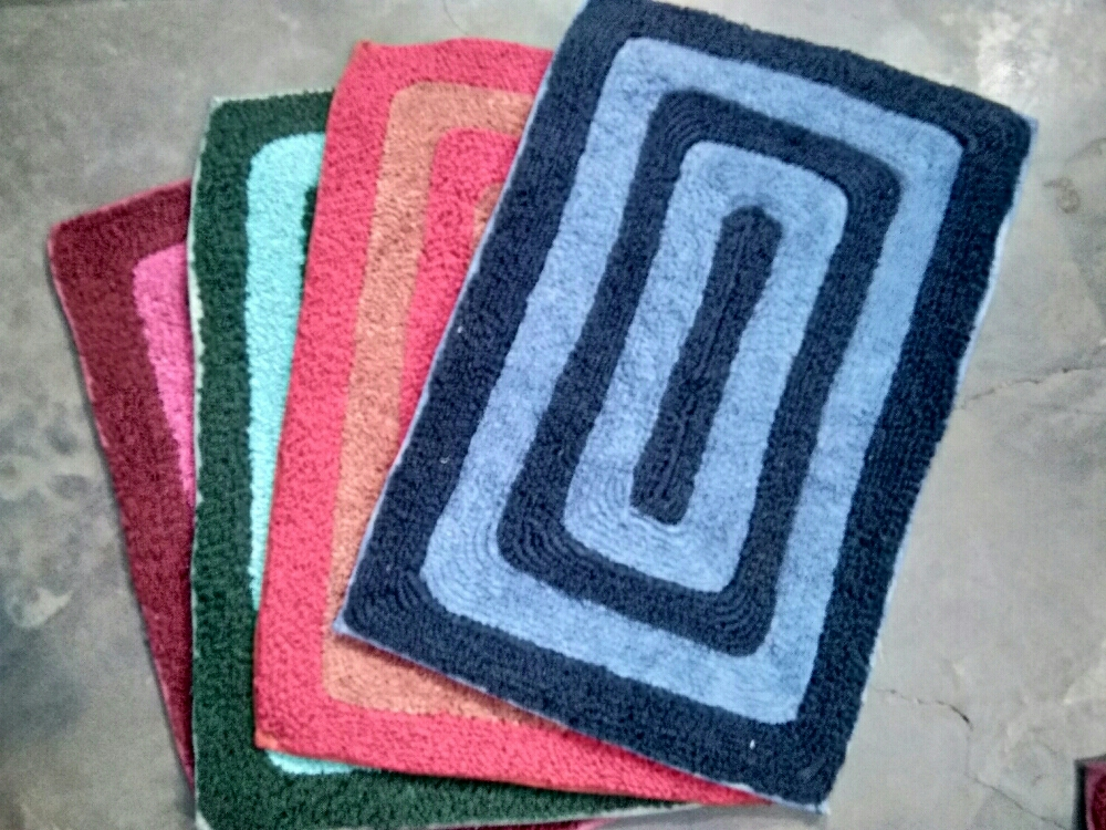 Crochet Recycled cotton Rugs