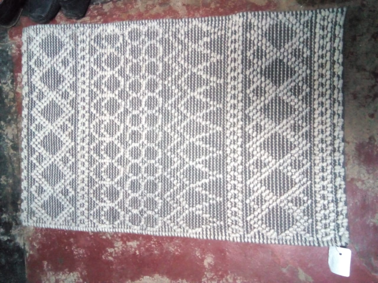 Hand made jute knotted carpet