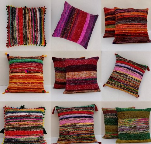 Wool Cushion Rugs
